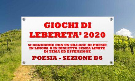 POESIA SEZIONE D6 – POLO RIABILITATIVO CINISELLO