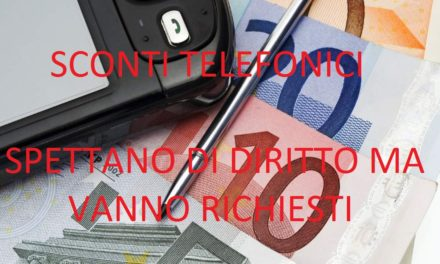 CANONE TELEFONICO AGEVOLATO