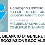 BILANCIO DI GENERE NELLA NEGOZIAZIONE SOCIALE