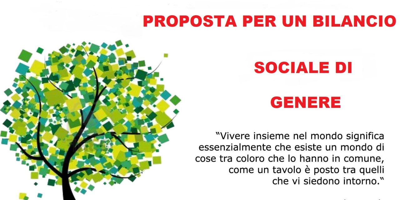 BILANCIO SOCIALE DI GENERE