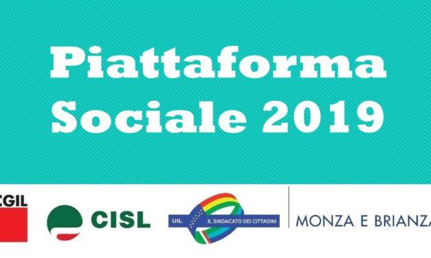 PIATTAFORMA SOCIALE – CGIL CISL UIL – 2019