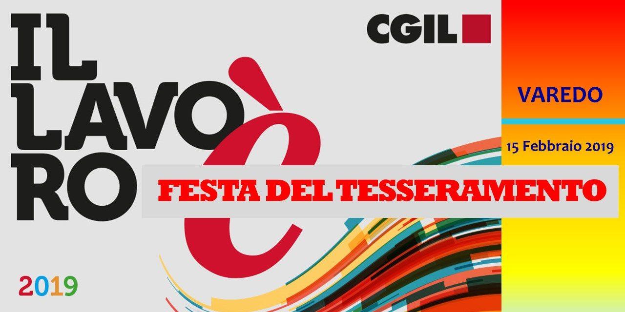 VAREDO – FESTA TESSERAMENTO 2019