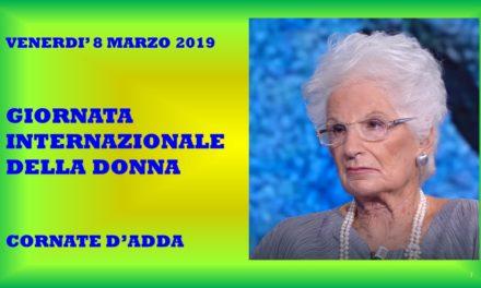 CORNATE D'ADDA – GIORNATA INTERNAZIONALE DELLA DONNA