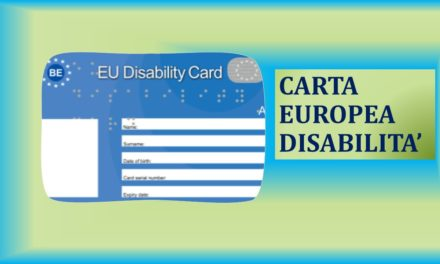 CARTA EUROPEA DELLA DISABILITA'