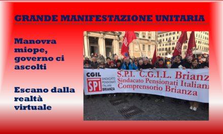 ROMA – GRANDE MANIFESTAZIONE