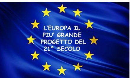EUROPA – ESPOSIZIONE DELLA BANDIERA
