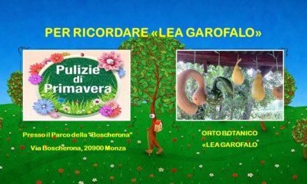 LEA GAROFALO – PARCO DELLA BOSCHERONA