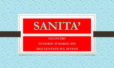 LENTATE SUL SEVESO – SANITA'