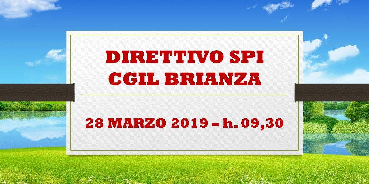 SPI MONZA BRIANZA – CONVOCAZIONE DIRETTIVO 28-03-19