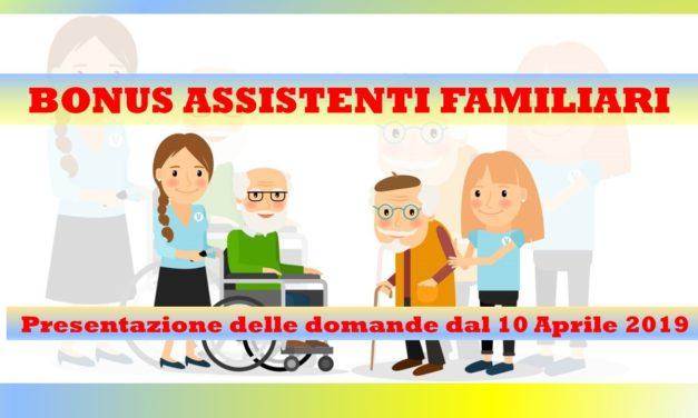 BONUS ASSISTENTI FAMILIARI – CAREGIVER
