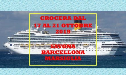 CROCERA – SAVONA BARCELLONA MARSIGLIA