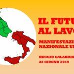REGGIO CALABRIA – MANIFESTAZIONE NAZIONALE