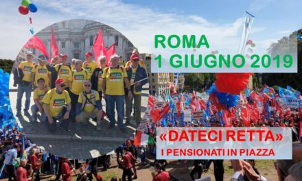 LE FOTO DELLA MANIFESTAZIONE – ROMA 1° GIUGNO 2019