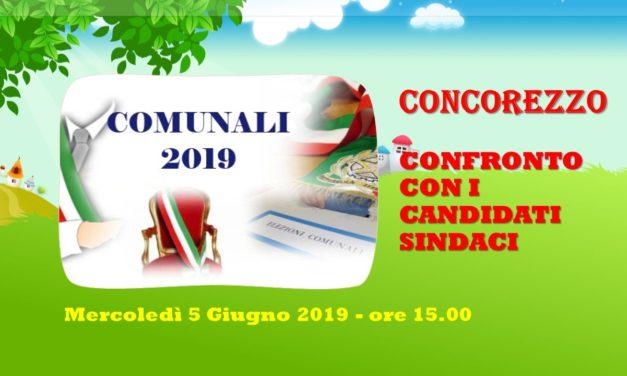 CONCOREZZO – CONFRONTO FRA I CANDIDATI SINDACI