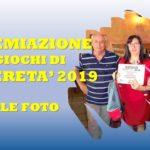 GIOCHI DI LIBERETA' – LE FOTO DELLA PREMIAZIONE