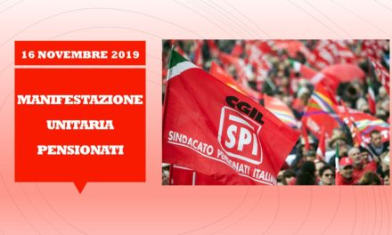 PENSIONATI – MANIFESTAZIONE UNITARIA A ROMA