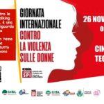 CONTRO LA VIOLENZA SULLE DONNE – GIORNATA INTERNAZIONALE
