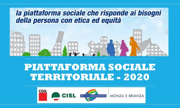 LETTERA AI SINDACI PER LA PIATTAFORMA SOCIALE 2020