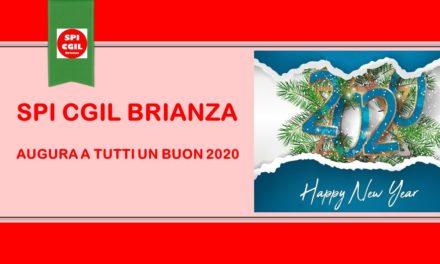 SPI CGIL BRIANZA AUGURA UN FELICE 2020