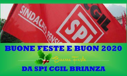 SPI CGIL BRIANZA AUGURA BUONE FESTE