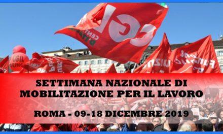 ROMA – SETTIMANA DI MOBILITAZIONE PER IL LAVORO