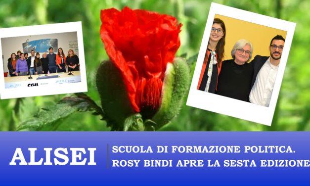 ALISEI: ROSI BINDI INAUGURA LA SESTA EDIZIONE