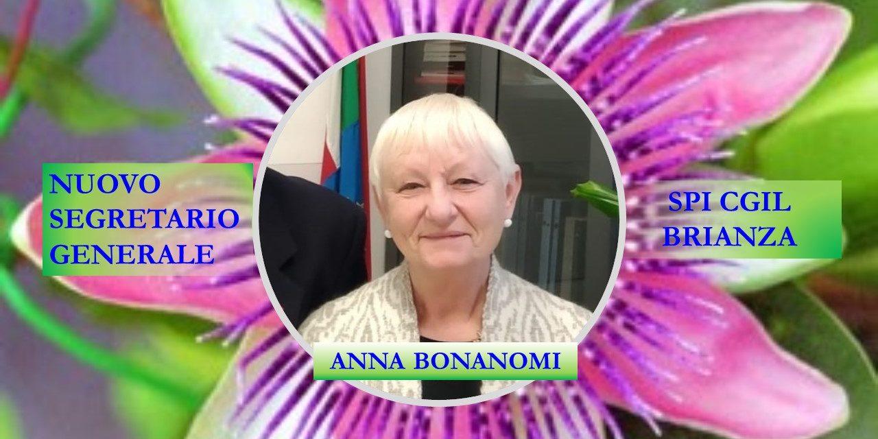 ANNA BONANOMI ELETTA SEGRETARIO GENERALE SPI CGIL BRIANZA