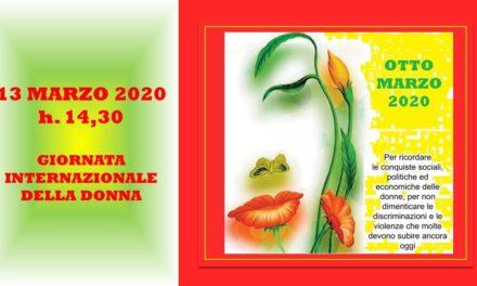 8 MARZO 2020