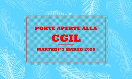 CGIL PORTE APERTE