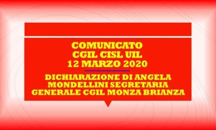 COMUNICATI CGIL ED UNITARIO