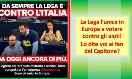 LA LEGA CONTRO L'ITALIA