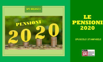 PENSIONI 2020