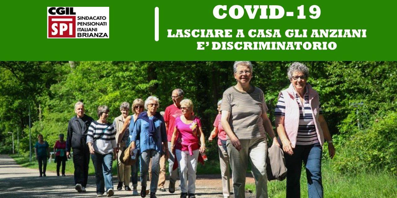 COVID-19 – LASCIARE A CASA GLI ANZIANI E' DISCRIMINATORIO