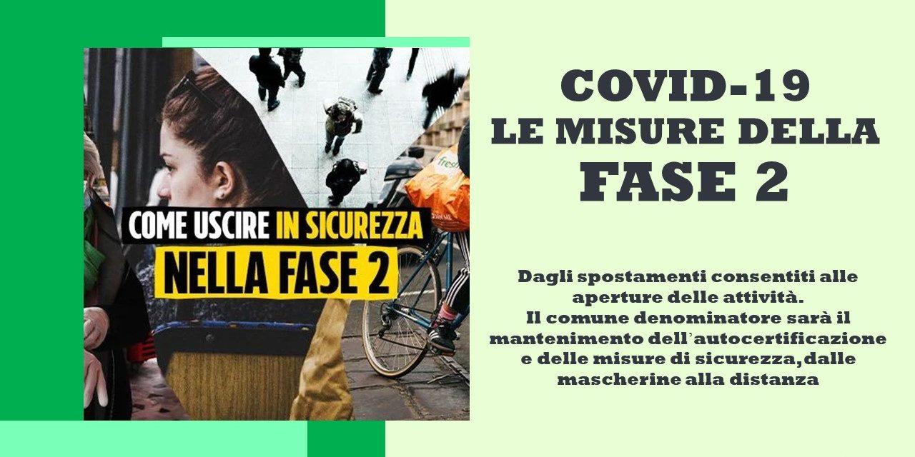 COVID-19 FASE 2 – DECRETO 26 APRILE 2020