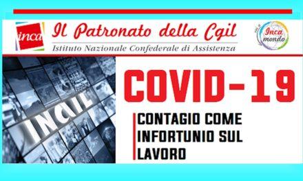 COVID-19: CONTAGIO COME INFORTUNIO SUL LAVORO