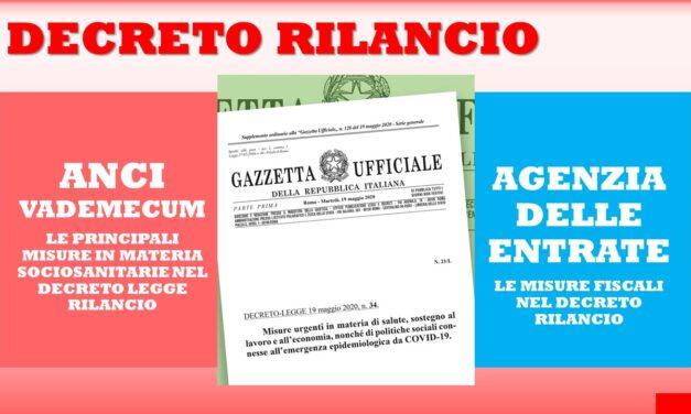 FISCO E MISURE SOCIO SANITARIE NEL DECRETO RILANCIO