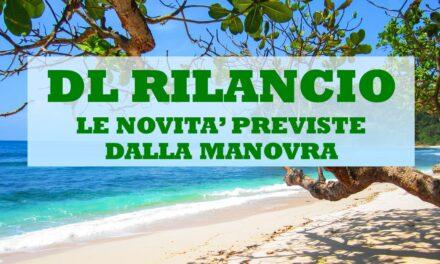 DL RILANCIO – LE NOVITA'