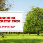 CONCORSI – GIOCHI DI LIBERETA' 2020
