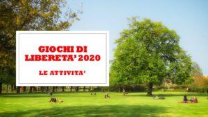 CONCORSI - GIOCHI DI LIBERETA' 2020