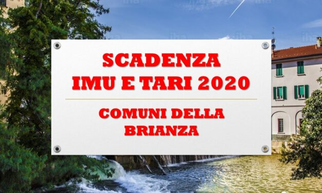 SCADENZA IMU E TARI 2020