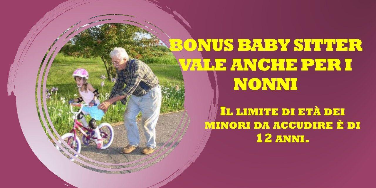 BONUS BABY SITTER E NONNI