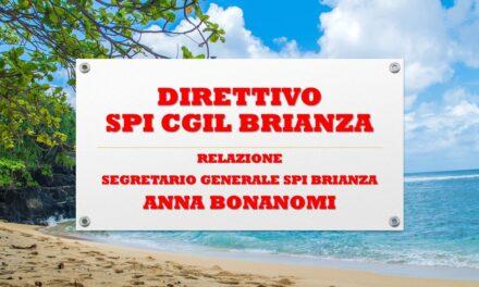 DIRETTIVO SPI CGIL BRIANZA – 8 LUGLIO 2020