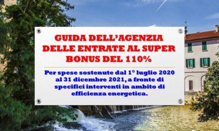 AGENZIA DELLE ENTRATE – GUIDA AL SUPERBONUS DEL 110%