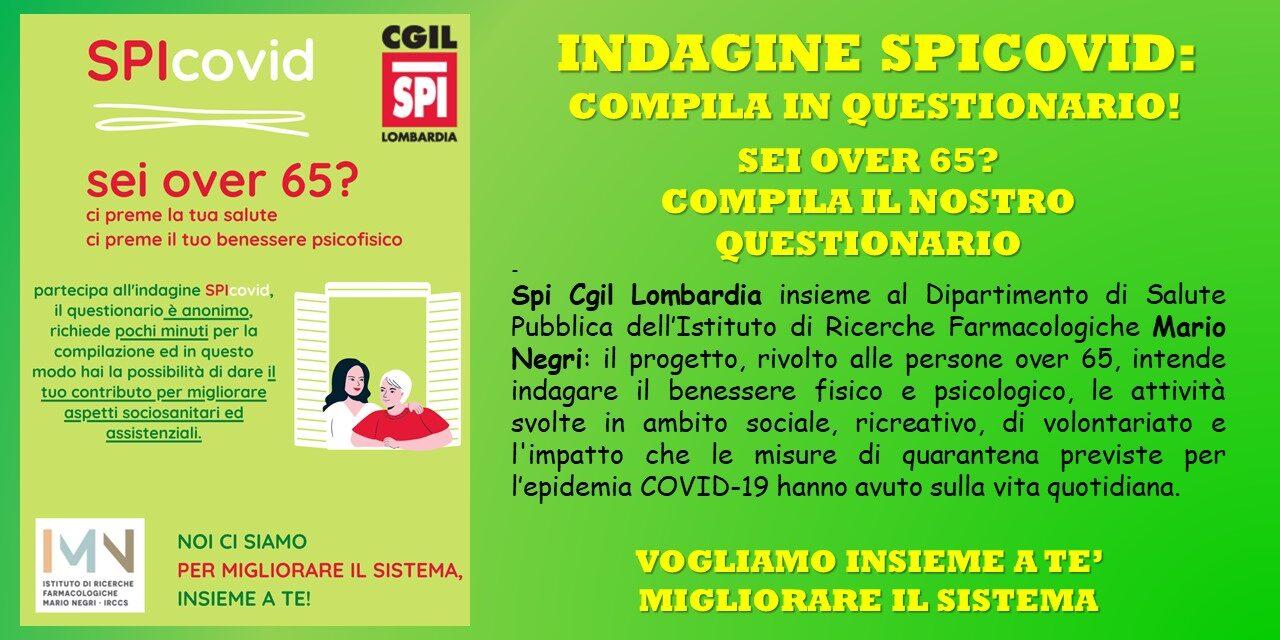 COVID 19 – INDAGINE SPI CGIL LOMBARDIA