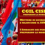 CGIL CISL UIL – ANNUNCIANO LA MOBILITAZIONE