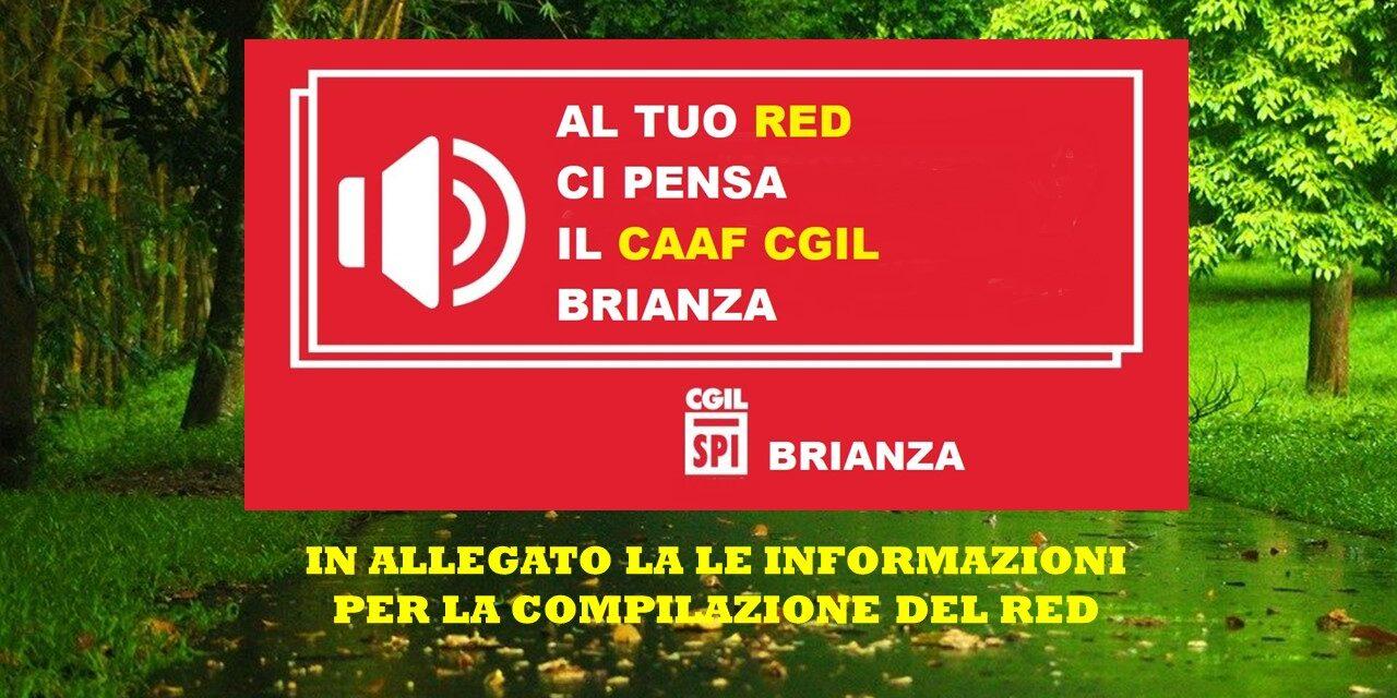 CAAF CGIL – RED 2020 – TUTTE LE INFORMAZIONI