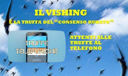 ATTENTI ALLE TRUFFE TELEFONICHE