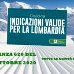 COVID-19 – ORDINANZA REGIONALE LOMBARDIA 620 DEL 16 OTTOBRE 2020