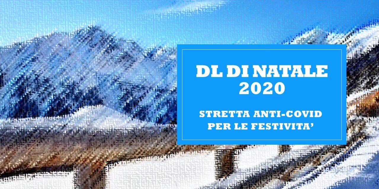 DECRETO LEGGE DI NATALE 2020