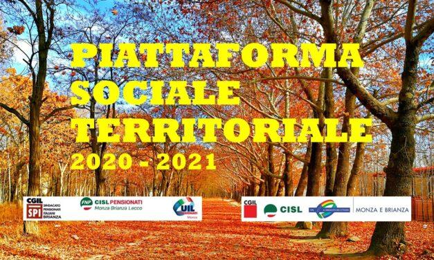 LA PIATTAFORMA SOCIALE TERRITORIALE 2020-2021